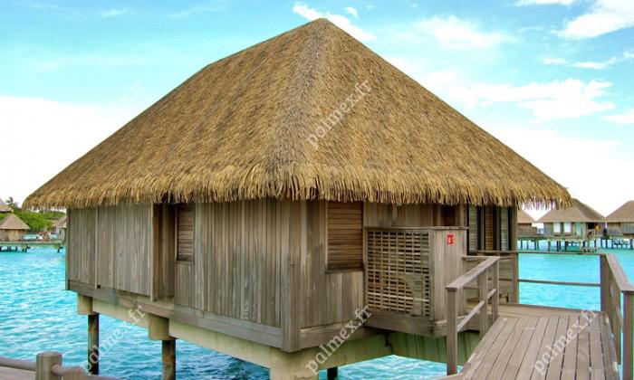 toiture paillote MALDIVES