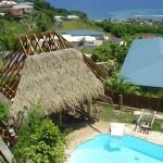 toit de paille Guadeloupe