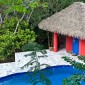 toit de paillote Pool House le Tropical