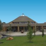 Zoo de Beauval - cubiertas sintéticas Palmex exótica