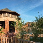 ZooParc de Beauval with exotic roof Palmex